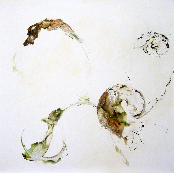 Acrylic and varnished graphite on synthetic paper, 2013
